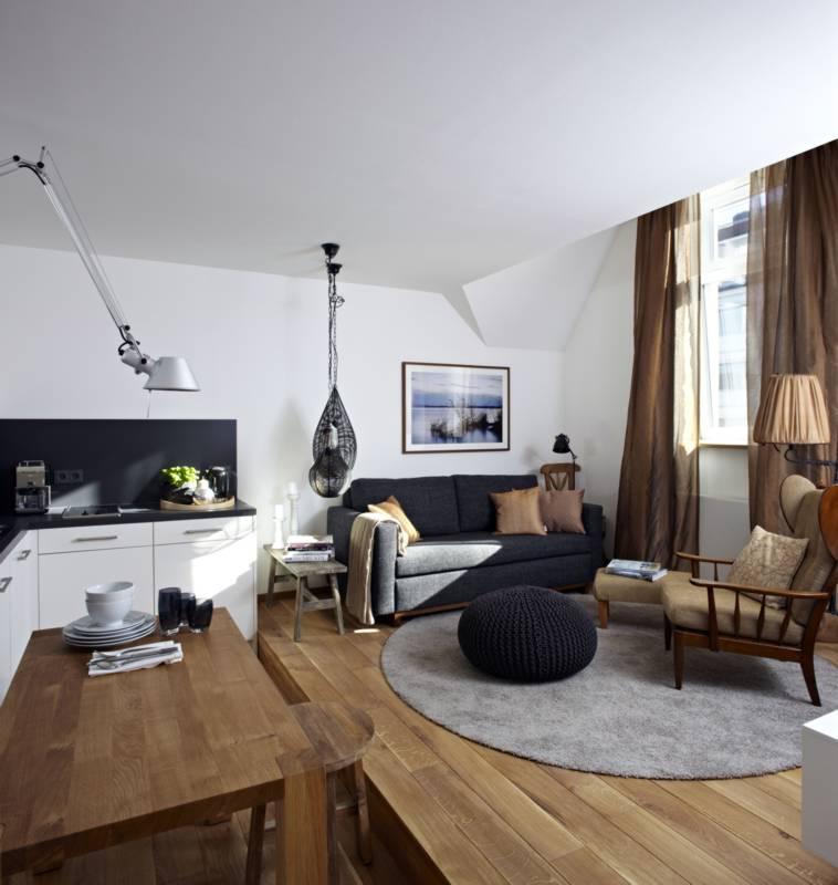 Stylisch Und Cool Unsere Design Wohnung Konigsschlaf